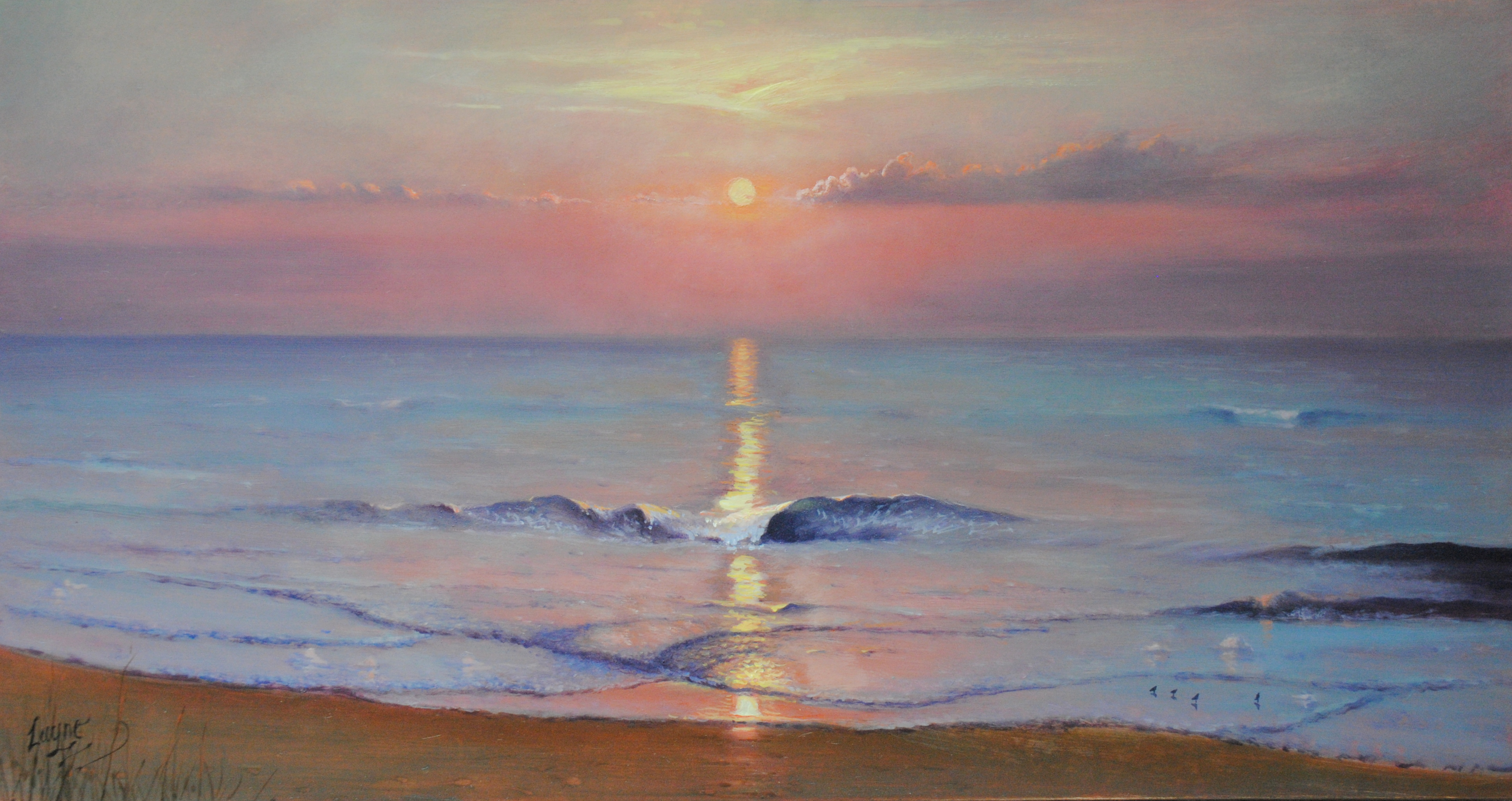 Sunset Wave - 26x49