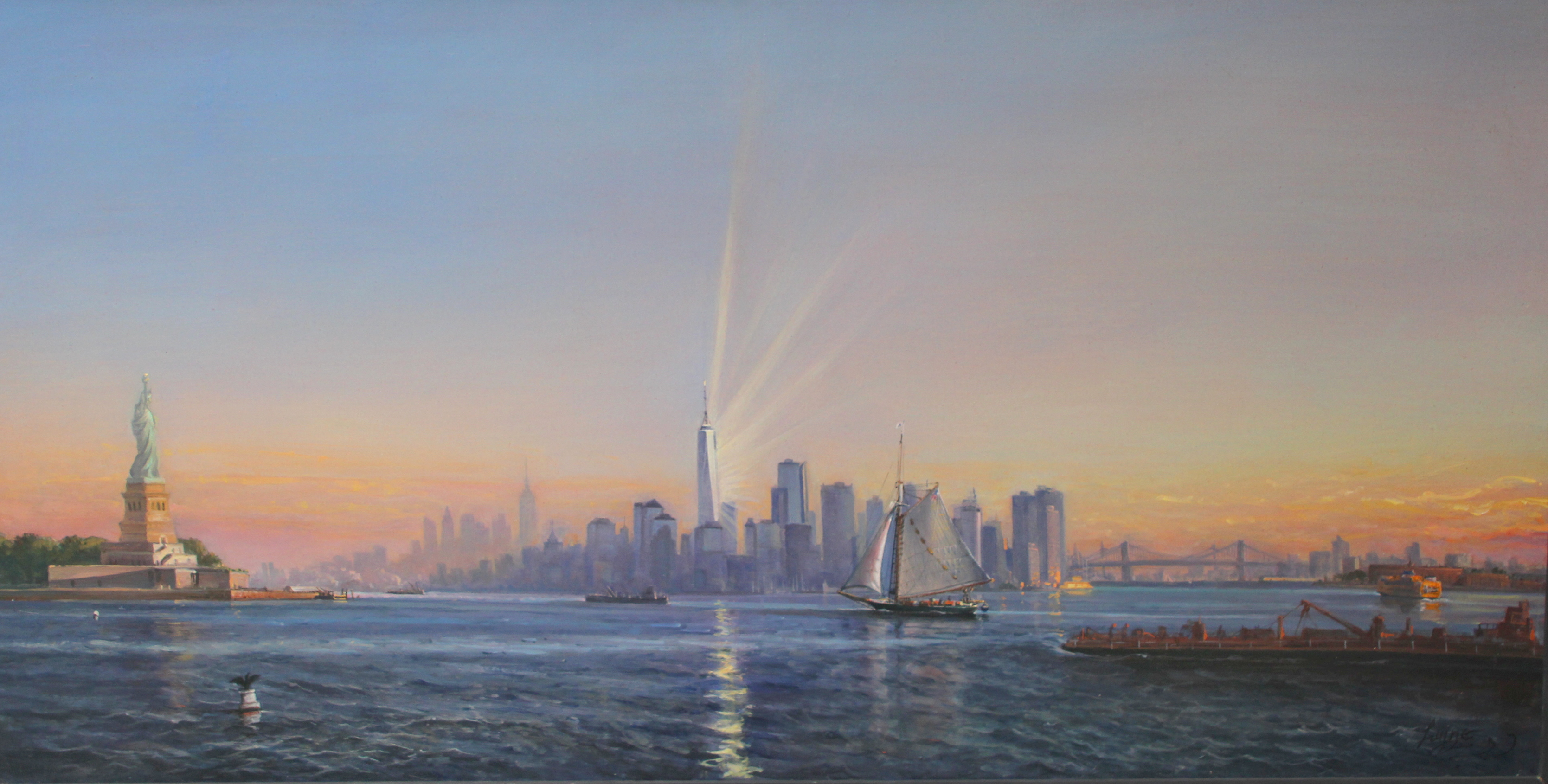 Freedom Tower - 28 x49