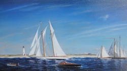 Opera House Cup, Nantucket - 22x36