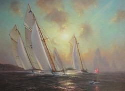Sunset Finish - 24x30