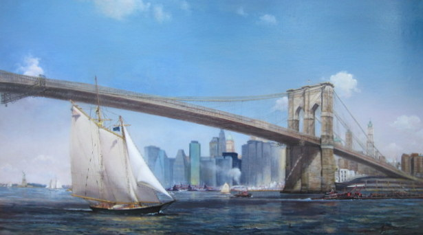 Brooklyn Bridge - 43x78
