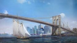 Brooklyn Bridge - 43x78
