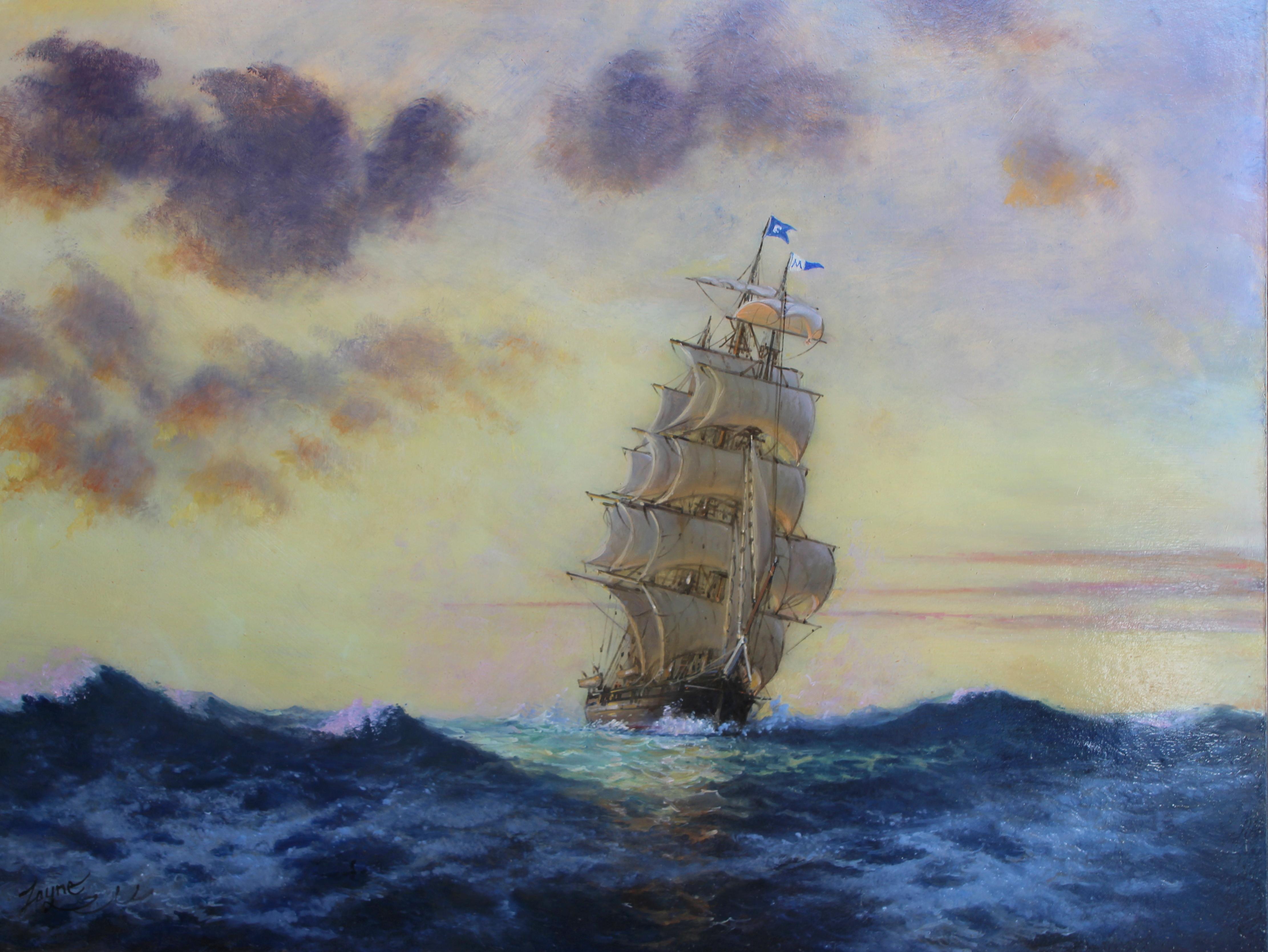 Charles Morgan last Voyage 30x40.JPG