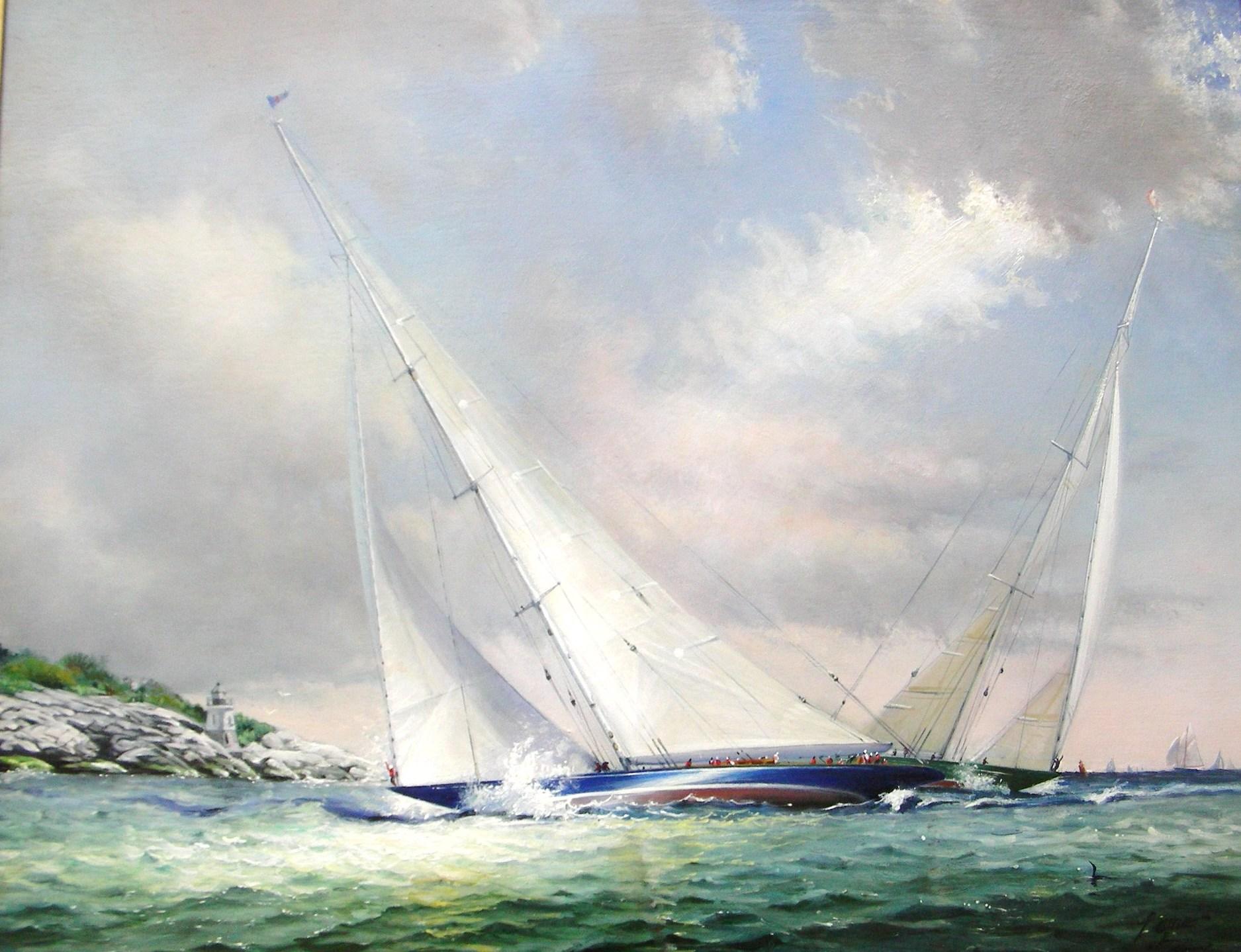 Endeavor, Newport - 30x40