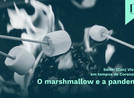 O marshmallow e a pandemia
