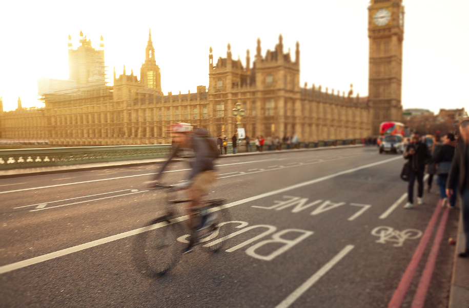 London cycling safety