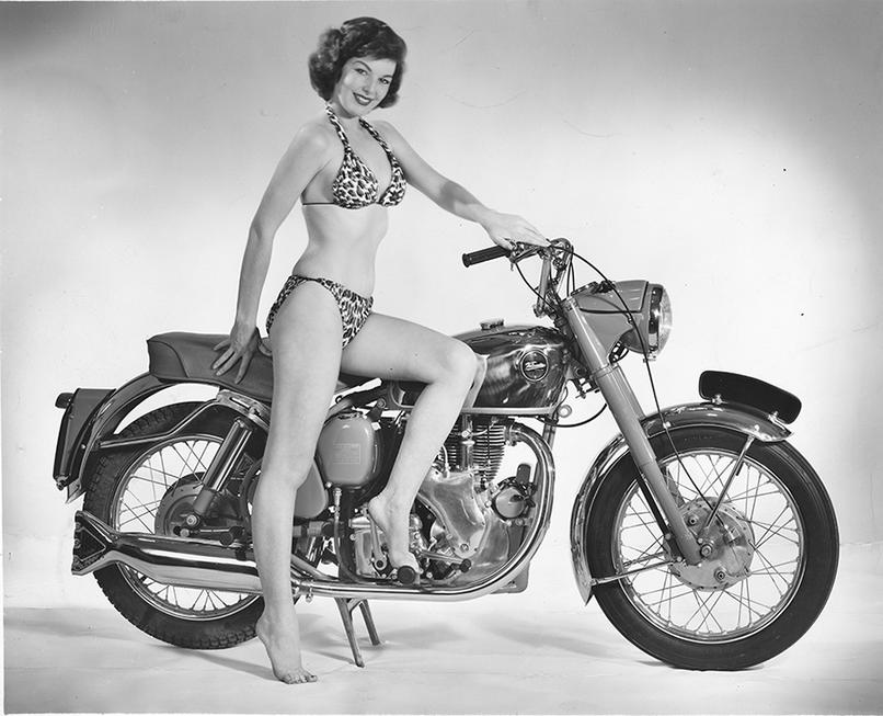 Velocette Venom 1956 Los Angeles