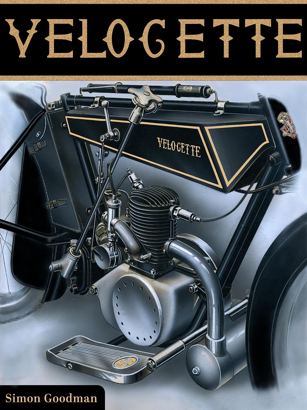 Velocette Book-Cover