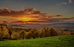 Cotswolds-at-Sunset