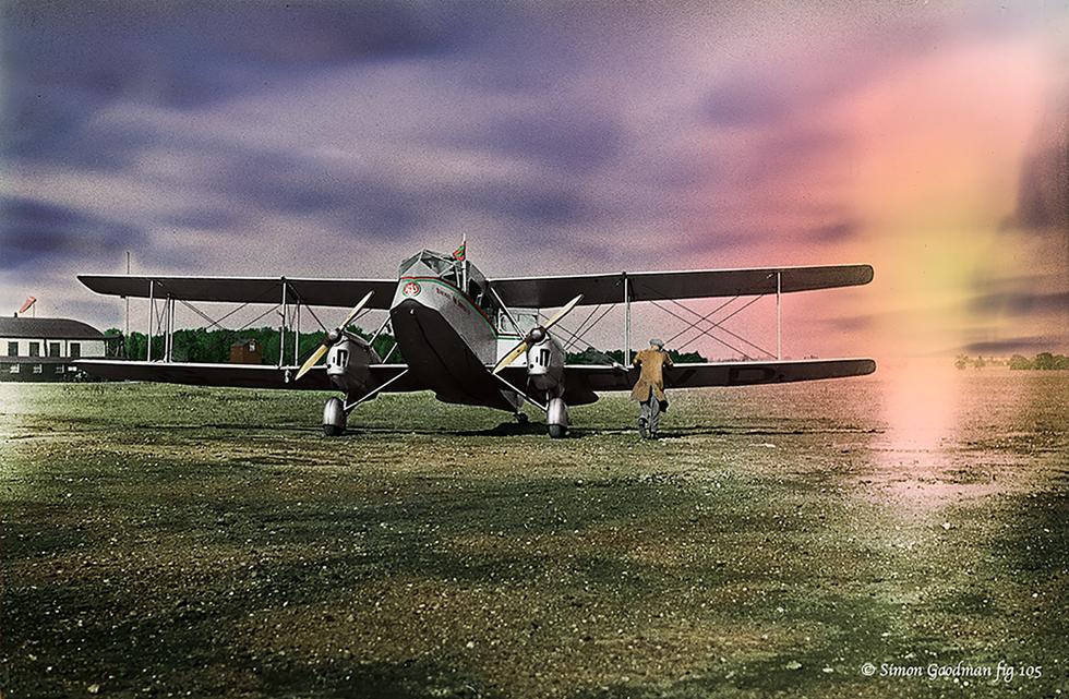 De-Havilland DH84 Dragon 1935