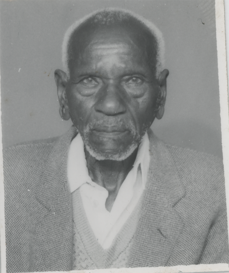 Kenyan Gentleman before