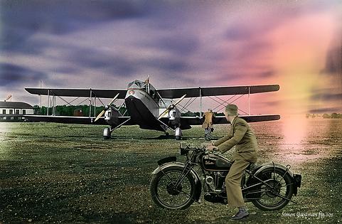 De Havilland DH84 Dragon entered service