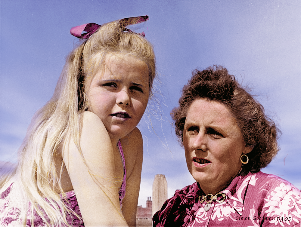 Mother and Daughter 1958