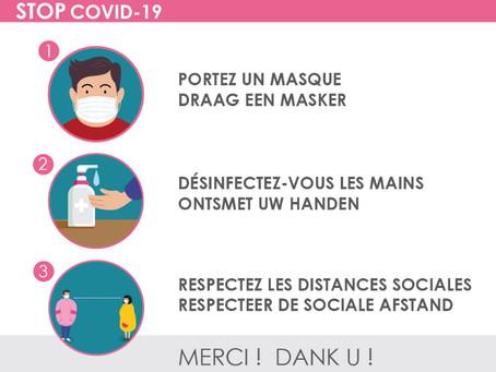 Mesures de prévention COVID-19