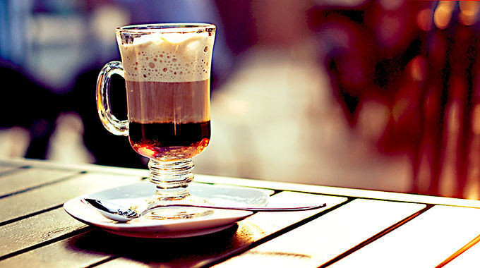 Irish coffee —Кофе по-ирландски