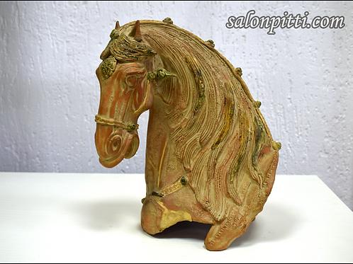 Керамика. Голова лошади, фабрика Baga (Италия)