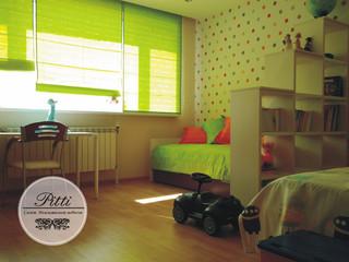 Покрывала, подушки и римские шторы в детскую, ткани из коллекций Espatex, г.Ханты-Мансийск