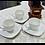 Чашка для кофе, чашка для эспрессо, белый фарфор, Mangani, Италия