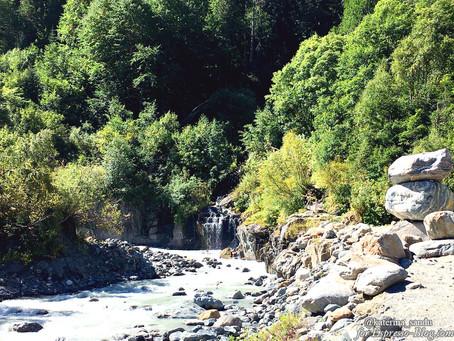 Особенности национального туризма: в горах Домбая. Часть 3
