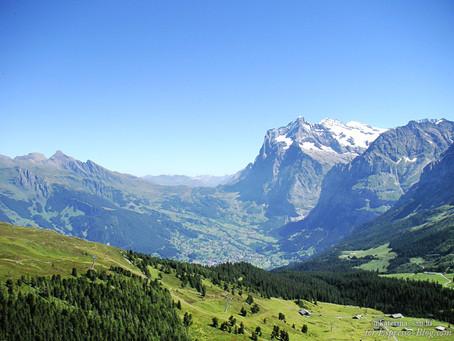 Швейцария: Путешествие на Männlichen (Мённлихен) - часть 1
