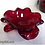 Thumbnail: Ваза муранское стекло красная диаметр 22см SOVET (Италия)