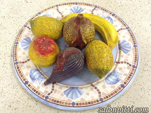 Набор фрукты из керамики Baga (Италия)