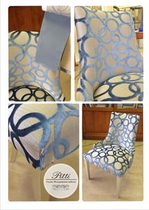Кресло и ткань, фабрика Veneta Sedia (Италия)