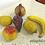 Thumbnail: Набор фрукты из керамики Baga (Италия)