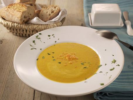 Осенний рецепт: Крем-суп из моркови с имбирем