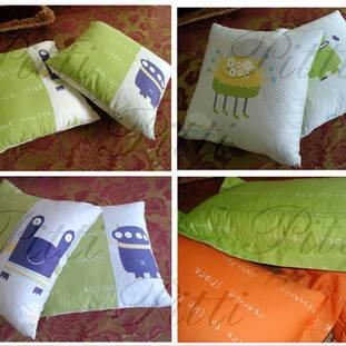 Выполненный заказ: покрывала и подушки в детскую, г.Ханты-Мансийск