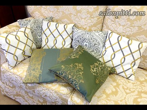 Подушка декоративная в ассортименте, 45х45 см
