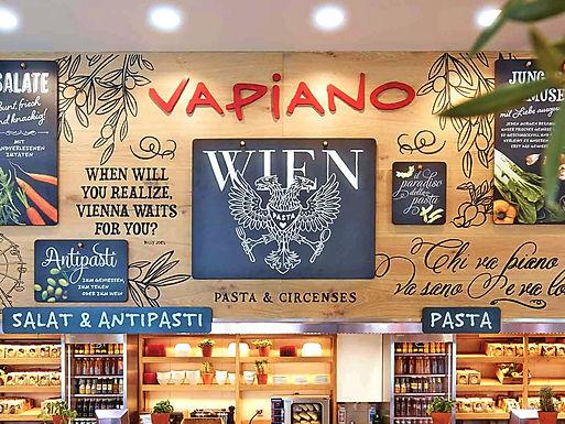 Вена: ресторан «VAPIANO»