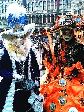 Карнавал в Венеции, часть I