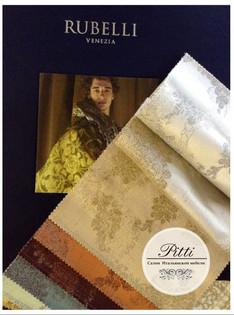 Rubelli - каталоги с образцами в салоне Pitti