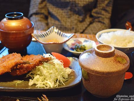 Блюда по-японски, или еда в Токио (Япония). Часть 1