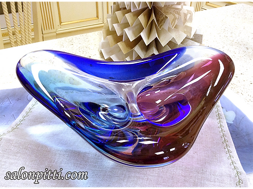 Ваза муранское стекло 28х23см SOVET (Италия)»
