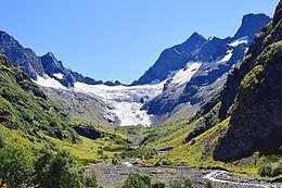 Долина Домбай-Ульген: Птышский ледник. Часть 6