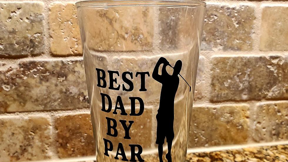 Best Dad by Par Glass