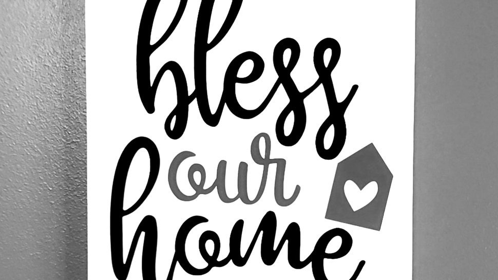 Bless Our Home Wall Hanging