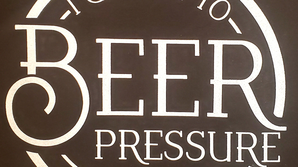 I give in to beer pressure shirt