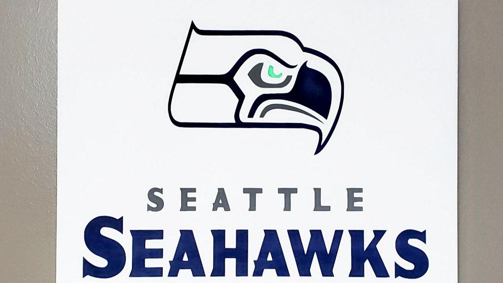 Seattle Seahawks Wall Hanging