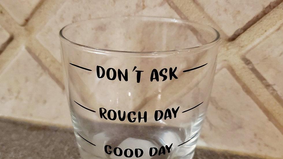Kinda Day - Whiskey Glass