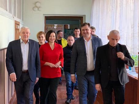 Народна депутатка Ірина Констанкевич була з візитом в Колках