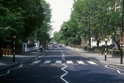 The famous Abbey Road