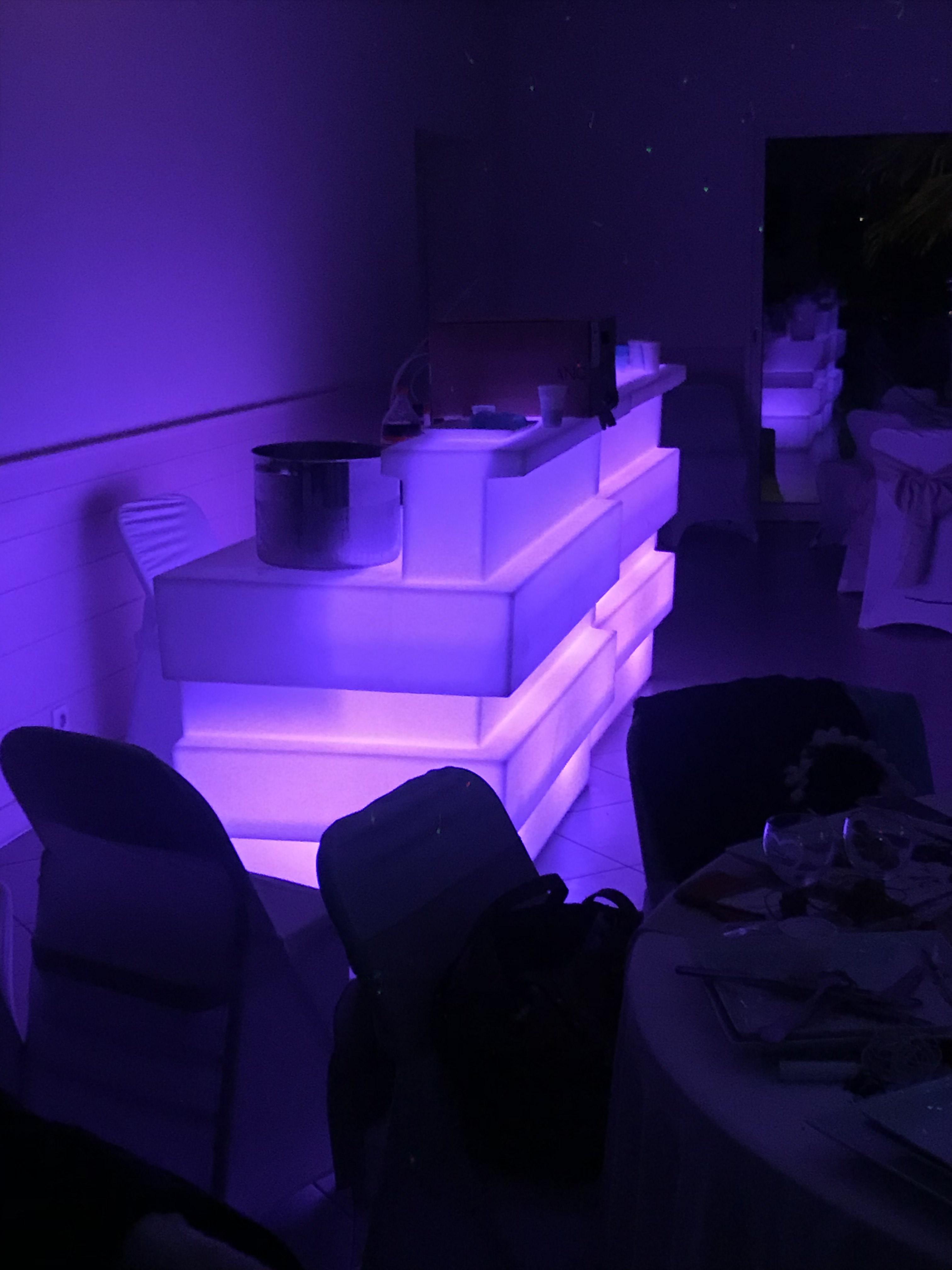comptoirs/ bar lumineux