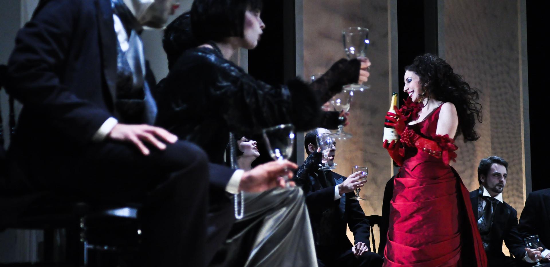 Traviata - champagne - Photo Marie julli