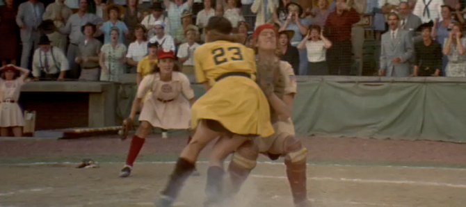 #ThirtyScenesInThirtyDays: Day Eight - A League of Their Own: The Play at the Plate