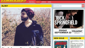 Cory Singer reviewed in acclaimed Aquarian Weekly.