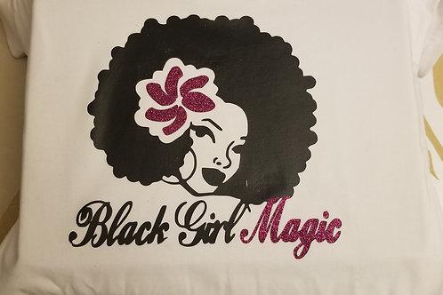 Flowered Black Girl Magic