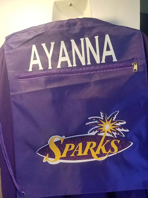 Backpack full of Spark's